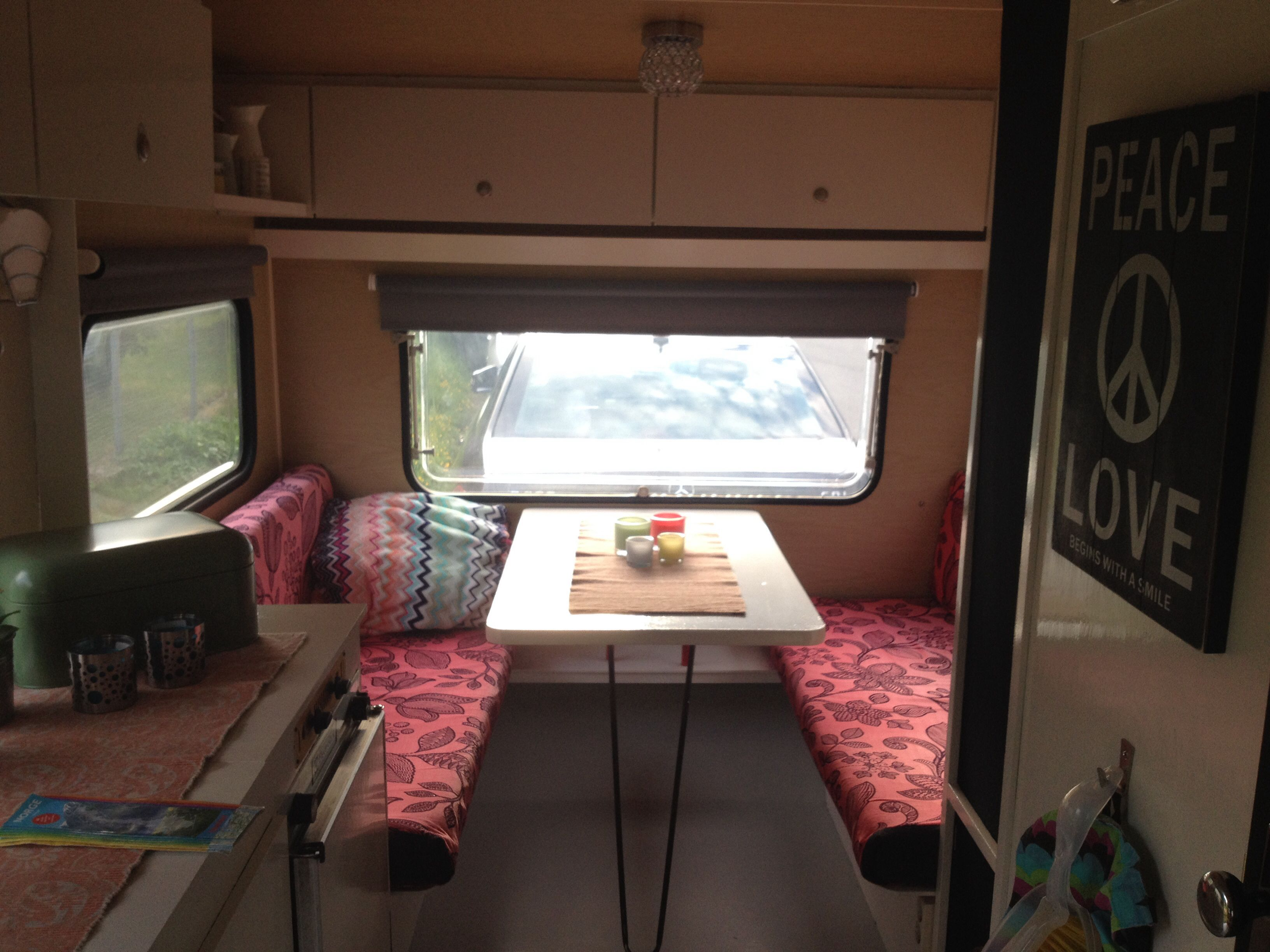 1978 Knaus Caravan Travel Trailer Vintage DIY Retro 70\'s Interior ...