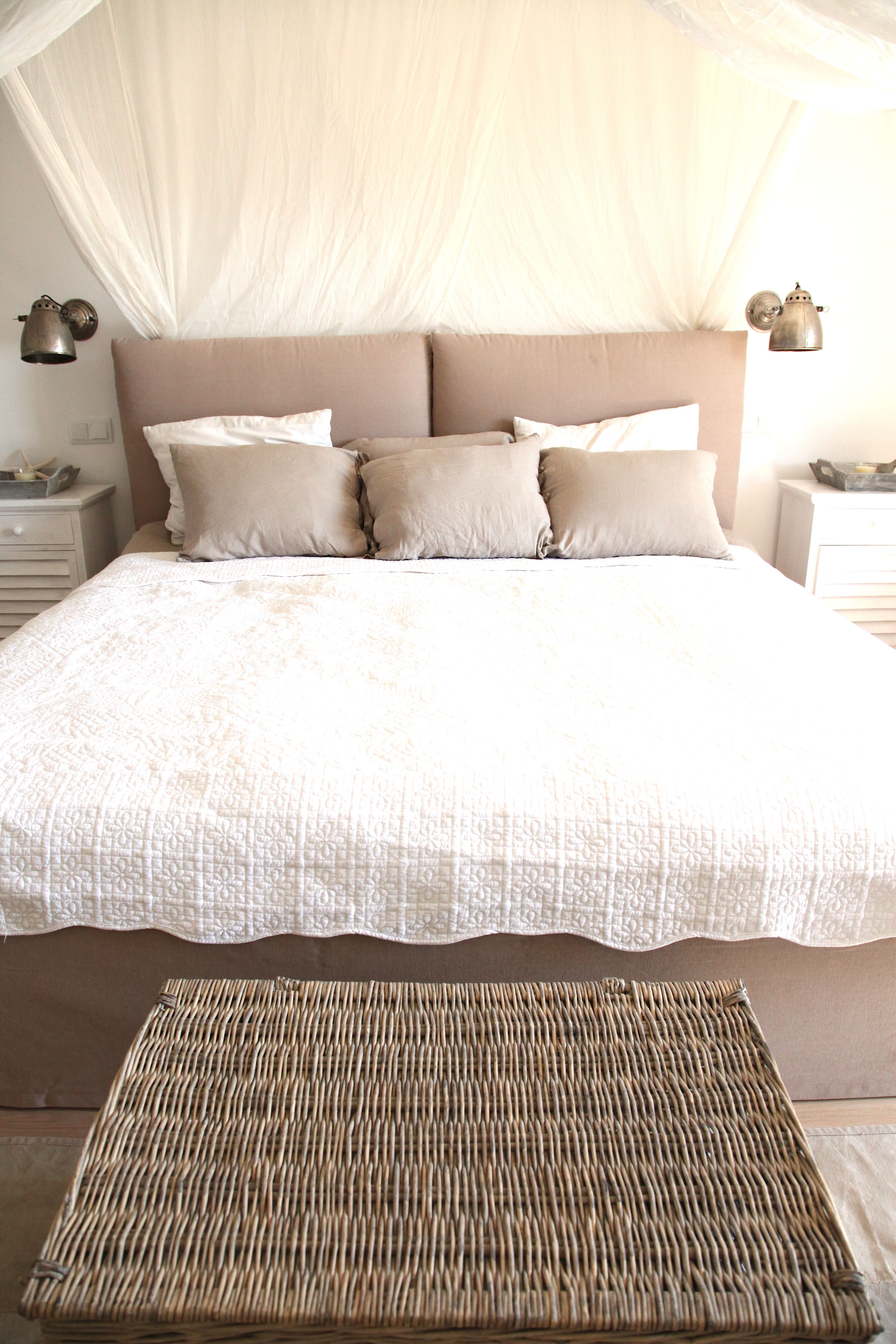 harmonisch eingerichtetes schlafzimmer #bett #inspiration, Schlafzimmer entwurf