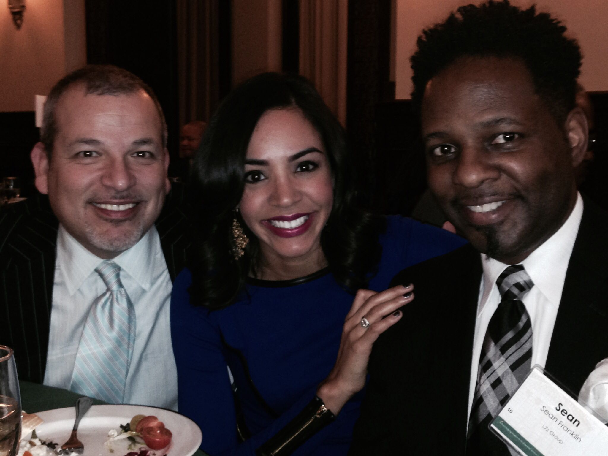 NGLCC 2014 Financial Services Award Dinner in NYC. With the beautiful Nina.