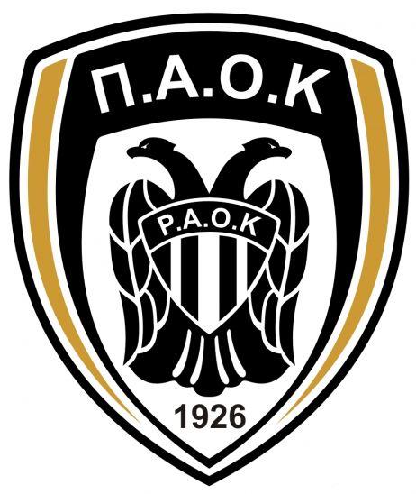 paok saloniki logo logo soccer pinterest f250tbol