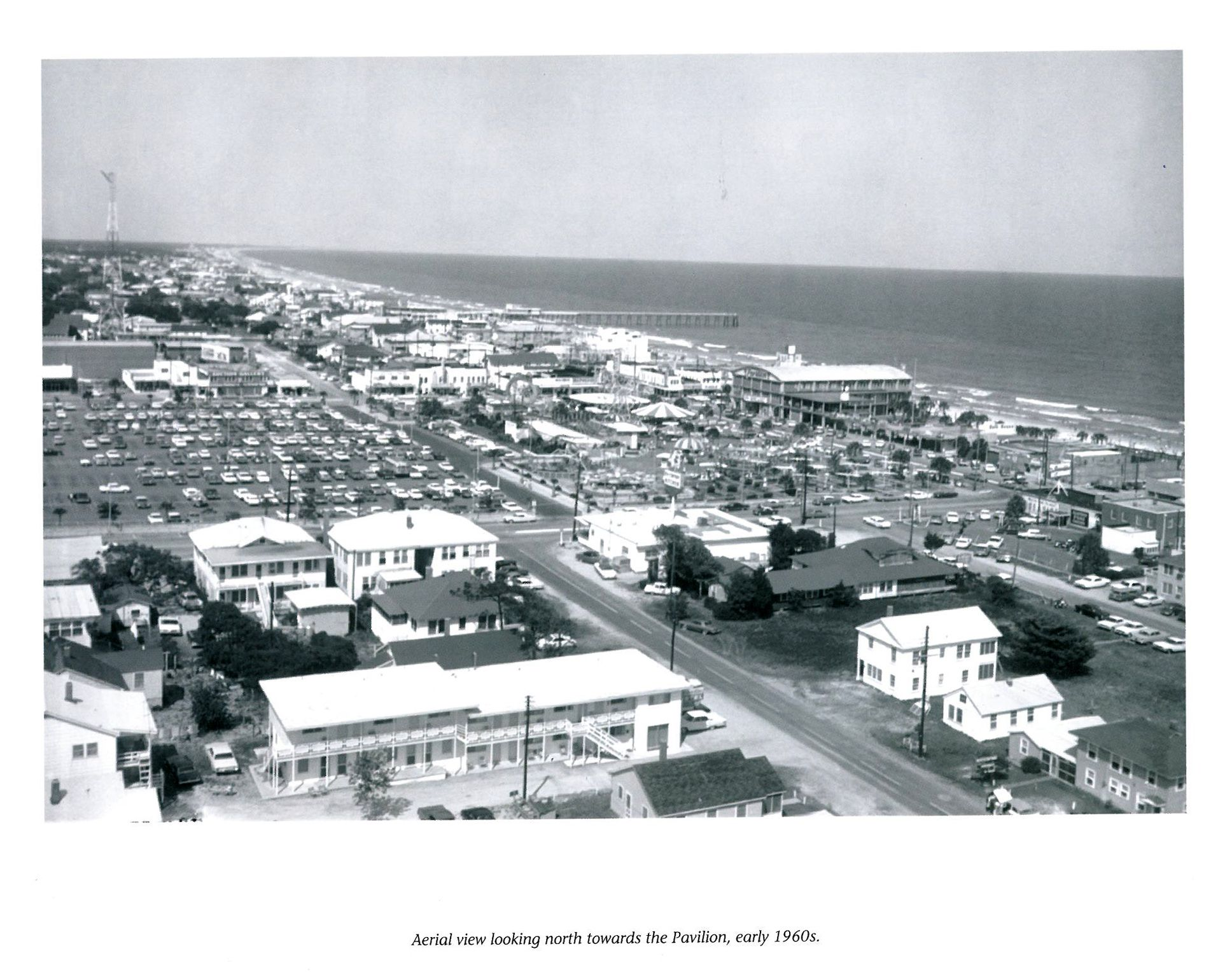 Aerial View Of The Pavillion 1960 S With Images Myrtle Beach