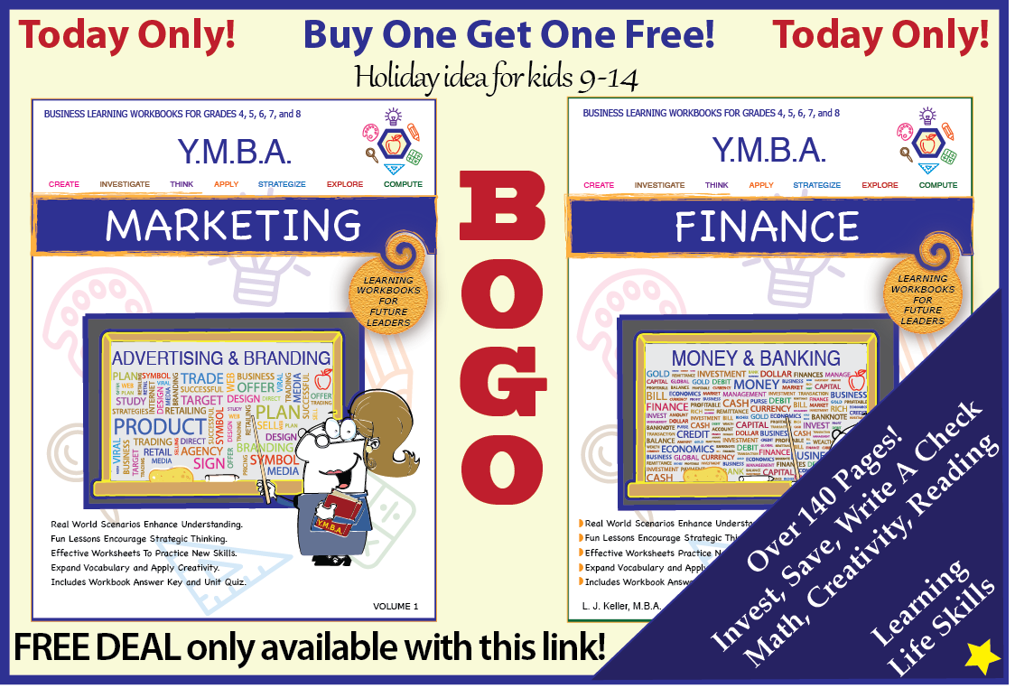 Limited special buy 1 workbook get the 2 free choose marketing or limited special buy 1 workbook get the 2 free choose marketing or finance or both and watch your student enjoy learning life skills and business lessons fandeluxe Gallery