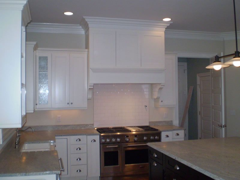 White Kitchen Exhaust Hoods square kitchens | kitchen hoods » painted square kitchen hood