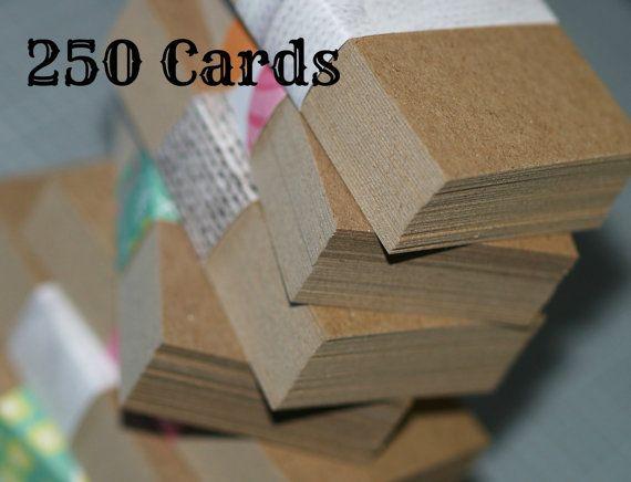 Visitenkarte Blanks 250 Spanplatten Mittleres Gewicht