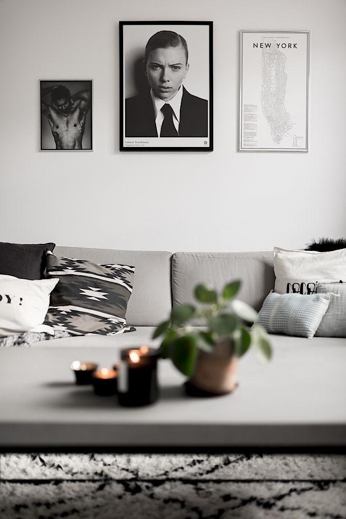 Minipiso sueco, moderno y juvenil MIS HOGARES FAVORITOS - decoracion de espacios pequeos
