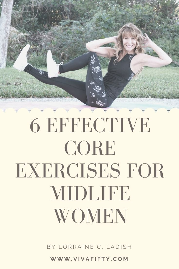6 Effective core exercises for midlife women