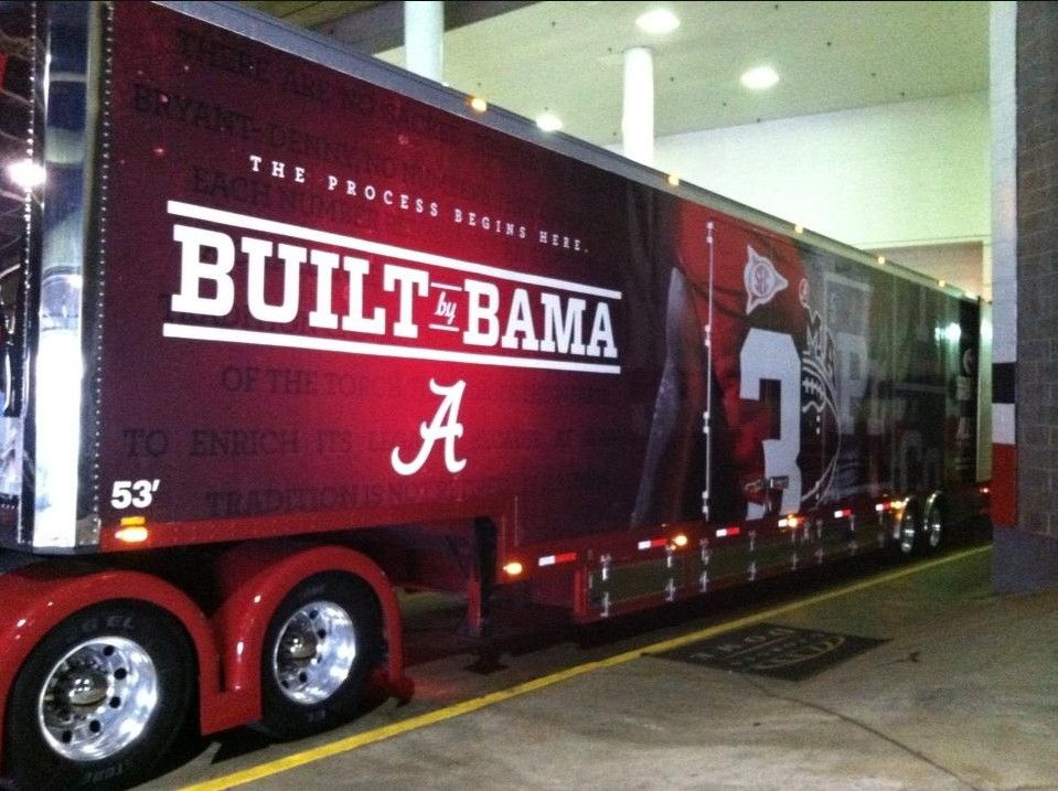 Alabamas equipment truck has arrived the dome