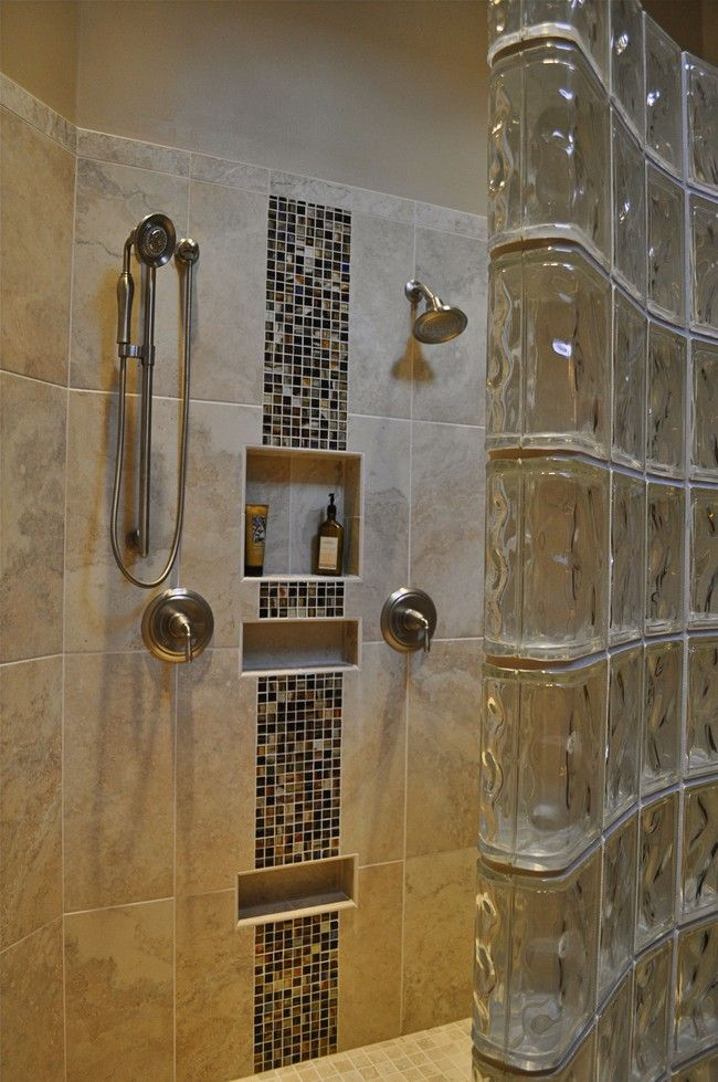 walk in showers without doors | custom walk in shower with no door ...