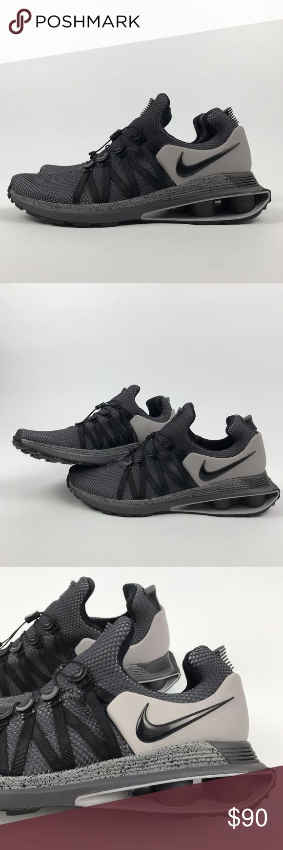 4a2fe3a38b7 Nike Shox Gravity Shoes Men s 10 gray black NWOB New (Without Box) Nike  Shox Gravity Atmosphere Grey Black Running Shoes Men s sz 10 Ar1999-011.