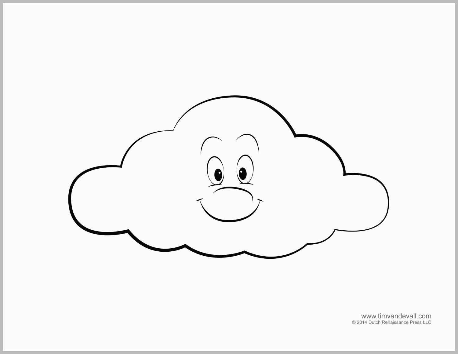 25 Amazing Photo Of Cloud Coloring Page Coloring Pages