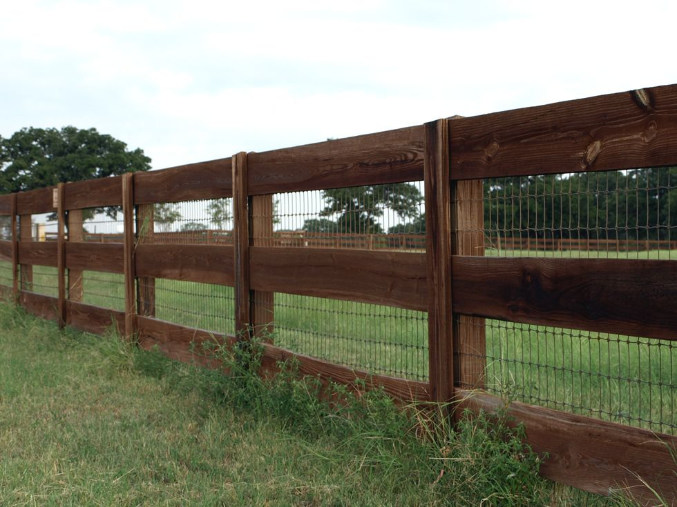 Ranch Style Wood Fence Designs Ranch Style Fencing Titan