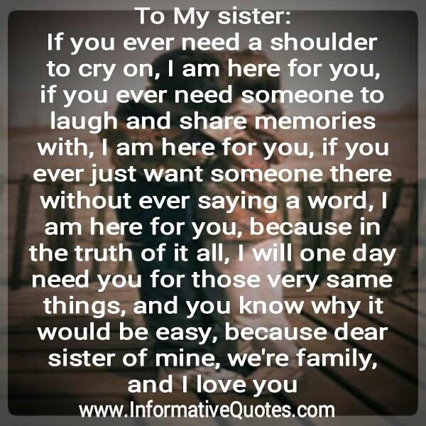 To My Little Sister Sisters Forever Always Pinterest