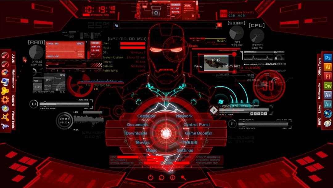 Wallpaper Name Marvel Iron Man Wallpapers Jarvis