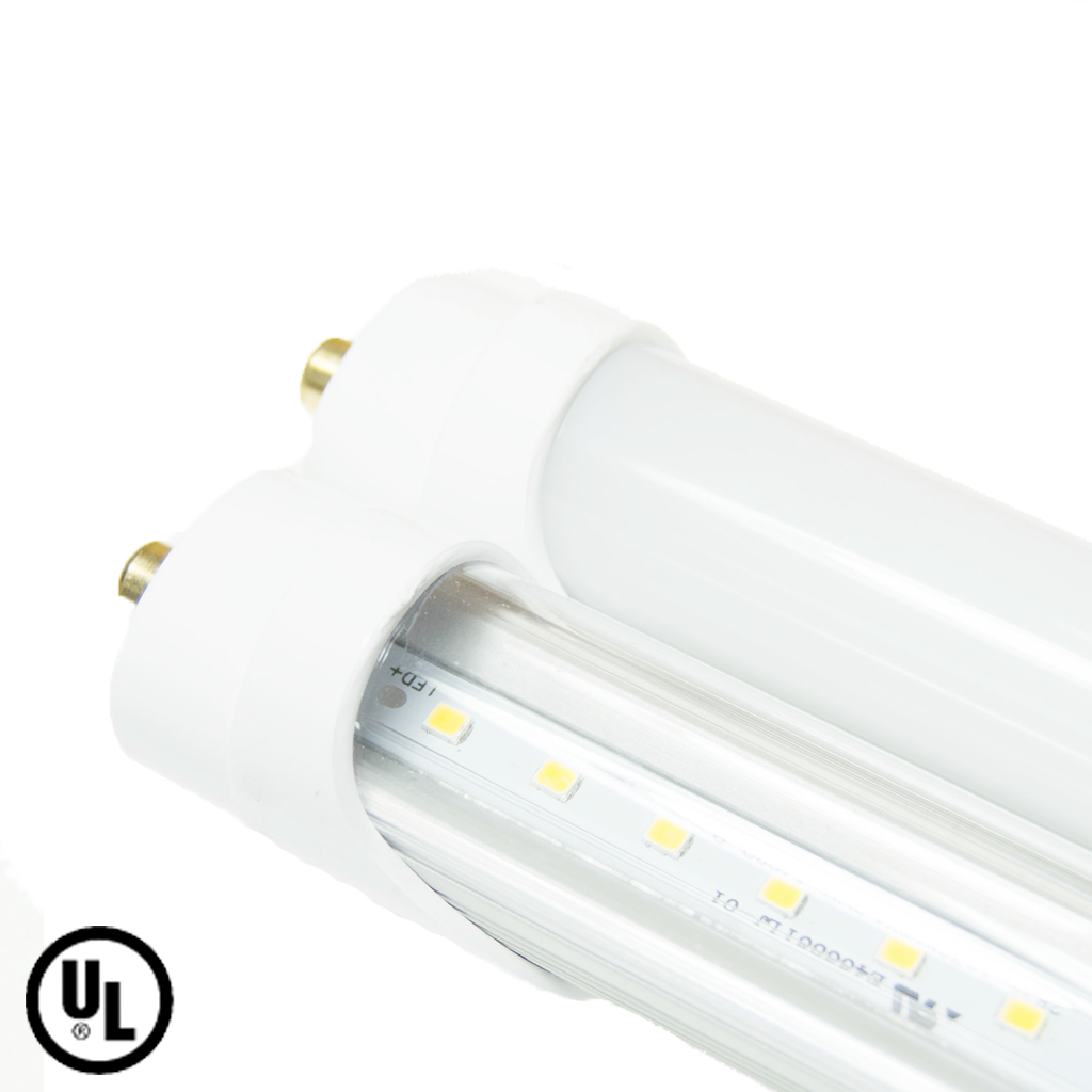 Our 8 foot led tubes is compatible with virtually every standard our 8 foot led tubes is compatible with virtually every standard ballast equipped fluorescent light fixture arubaitofo Images