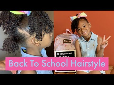 Kids Back To School Hairstyles On Natural Hair| First Day Of School| NATURAL HAIR - YouTube #naturalhairkids #kidshairstyles #naturalhair #type4kidshair  #backtoschoolhairstyle #naturalhairinspiration #firstdayofschoolhairstyles