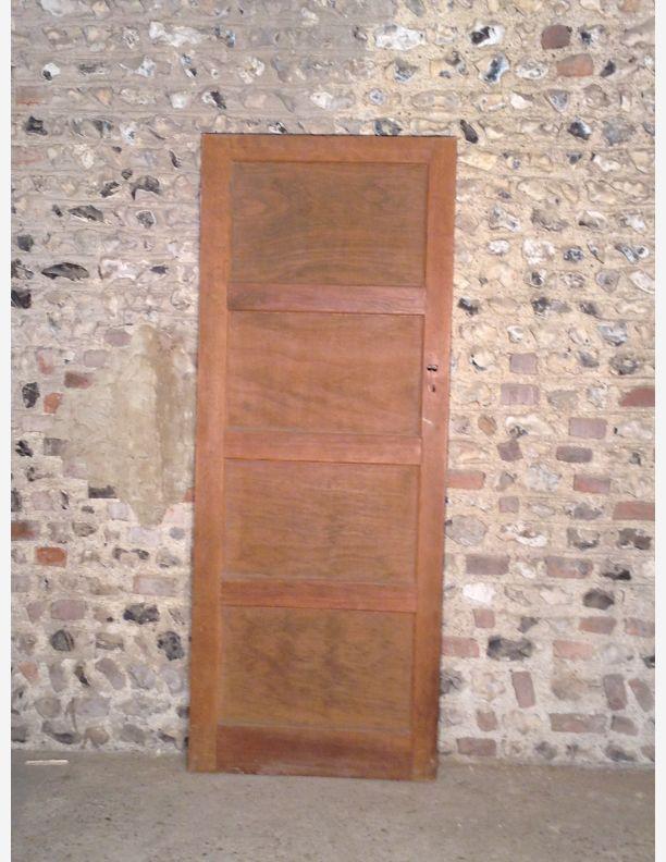 490 A 4 Panel Period 1950s Internal Door Internal Decor