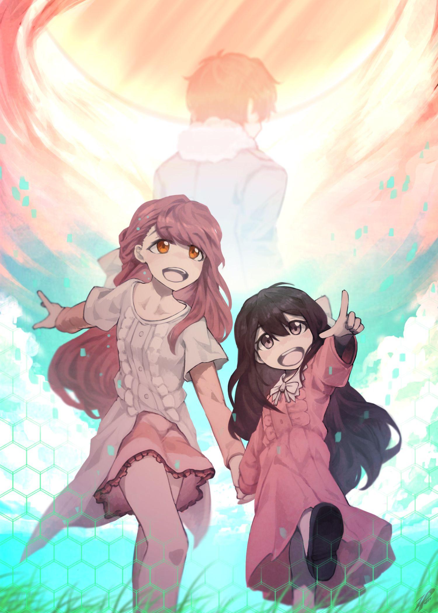 """""""Rin"""" """"Shigeru"""" Ilustrasi, Seni anime, Seni"""