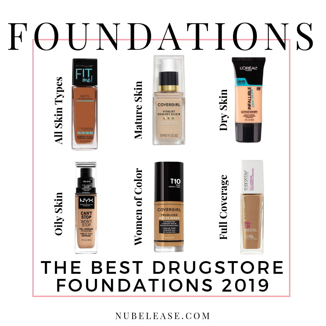 The Best Drugstore Foundations 2019 is part of Best drugstore foundation - Drugstore Foundations have come a long way in 2019  Heres the Best Drugstore Foundations 2019 including drugstore foundations for all skin types,Click here!