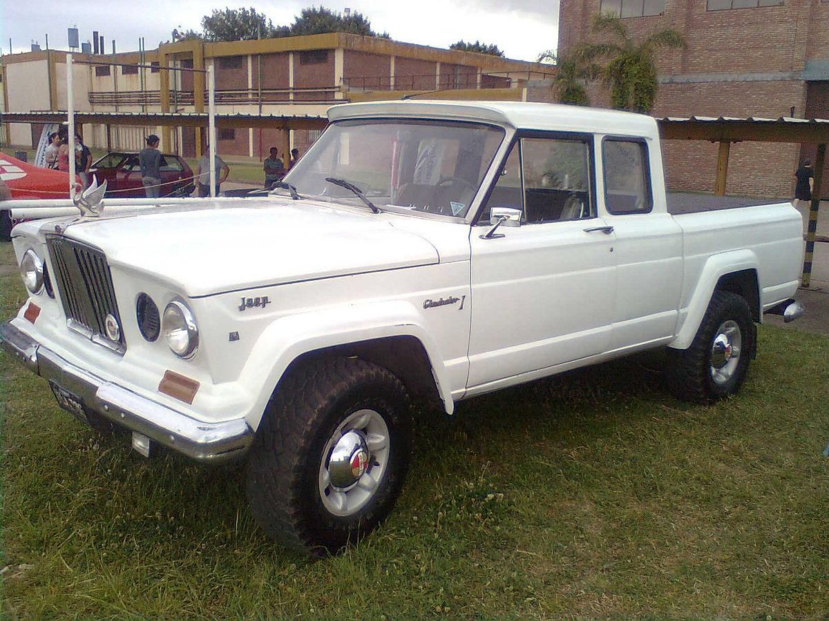 Seguro Para Autos Clasicos With Images Jeep Gladiator Jeep