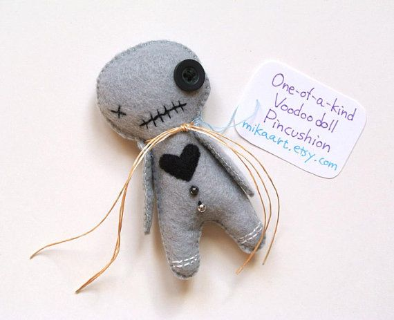 Voodoo Doll Weird Gift Voodoo Doll Plush Creepy Doll Handmade Pincushion Funny Gift For Her Gift for & Voodoo Doll Weird Gift Voodoo Doll Plush Creepy Doll Handmade ...