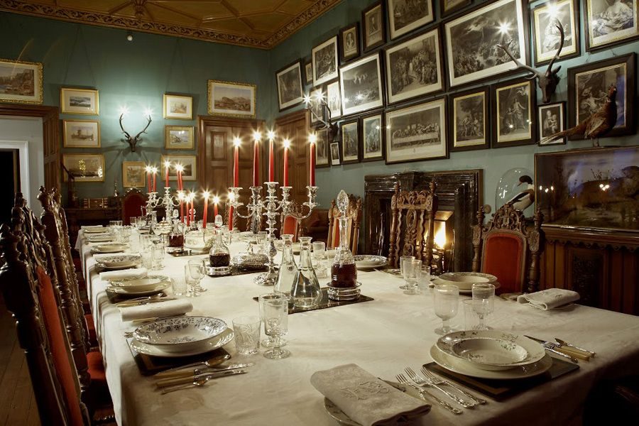 Balfour Castle Dining Room  Dining Room  Pinterest  Castles Gorgeous Castle Dining Room Inspiration Design