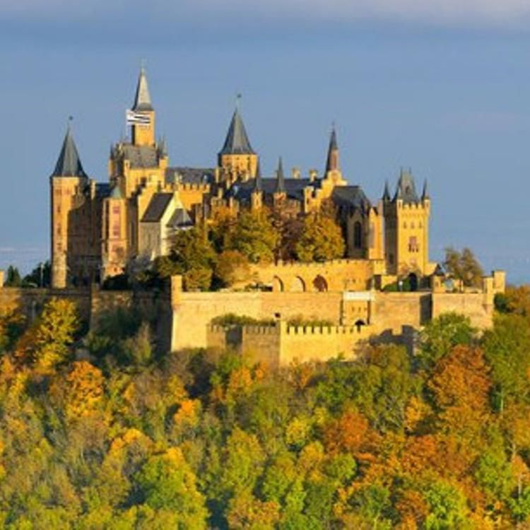 Hohenzollern Castle The Height Of Neo Gothic Architecture CFrancesco Carovillano