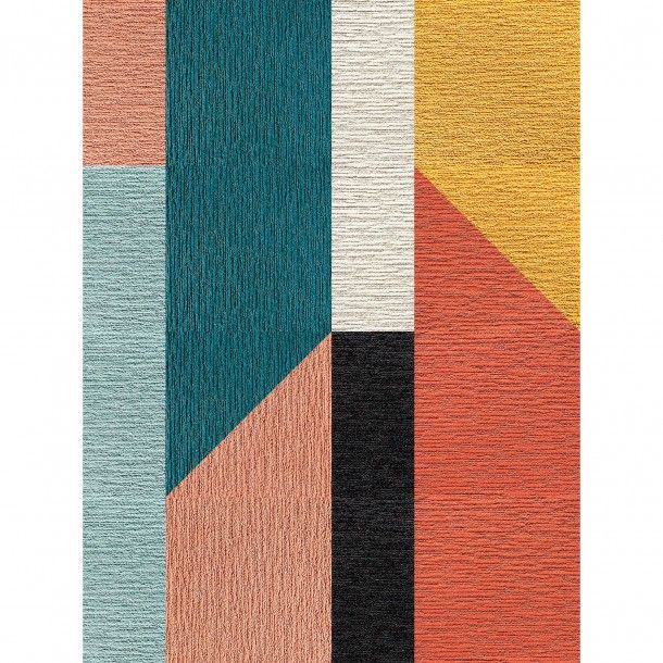 This Area Rug Features A Href Product Id 629 Product Id Made You Look A In Black Bone Coral Marigold Area Rugs Contemporary Area Rugs Abstract Rug
