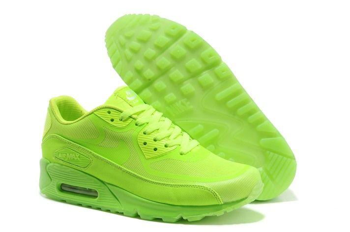 purchase cheap 68b1c b6e28 Nike Air Max 90 Prem Tape Mens Glow in The Dark Limited Spring Green