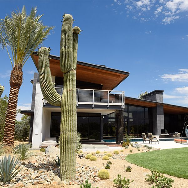 This desert home has the perfect cooling and heating system to keep it comfortable without compromising the carefully designed modern aesthetic. & This desert home has the perfect cooling and heating system to keep ...