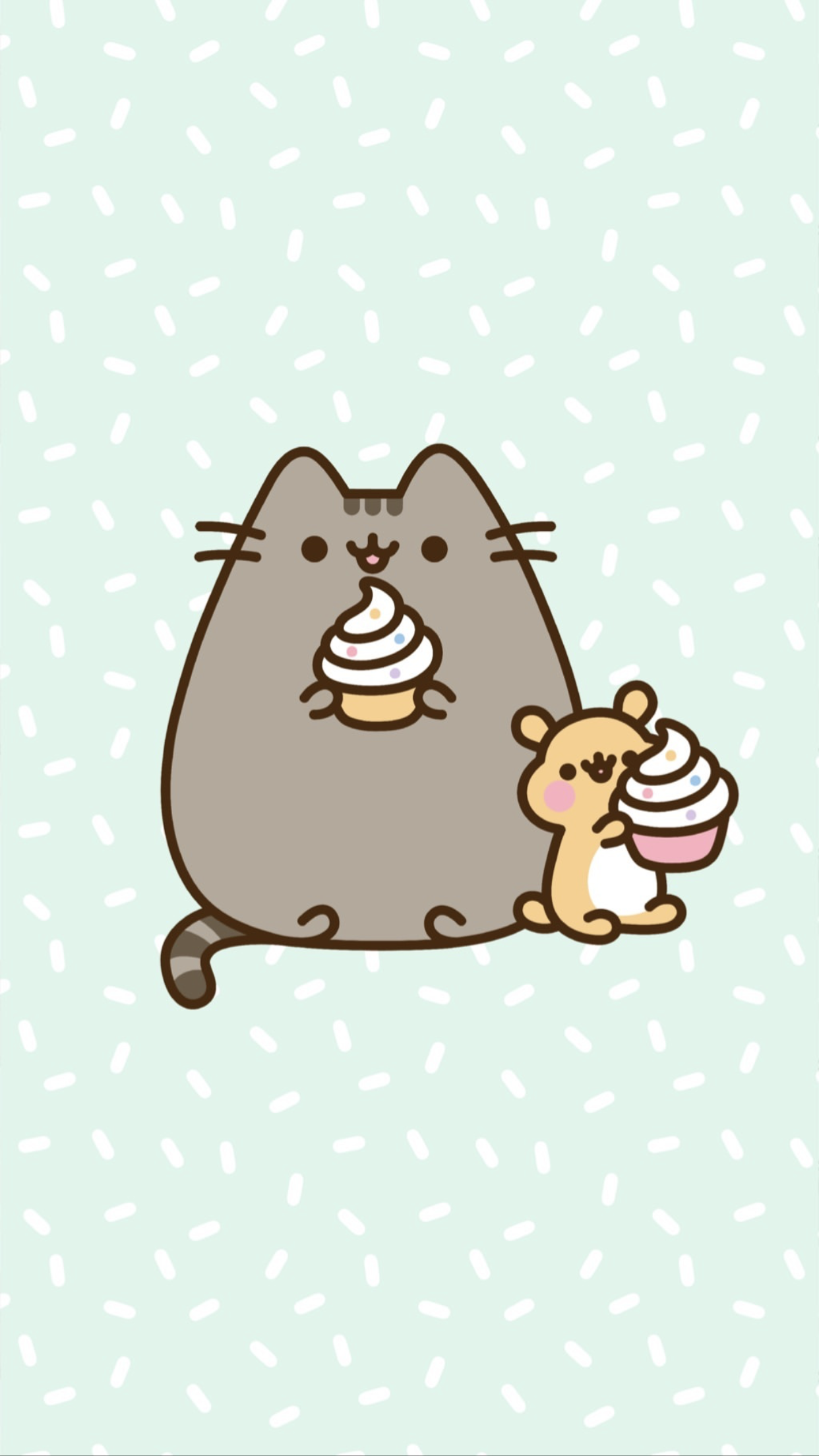 pusheen the cat iphone wallpaper Pusheen cute, Cat