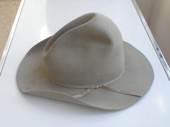 Vintage Resistol Cowboy Hat   Tom Mix style Hat   XXXBeaver  bfd84bf2018