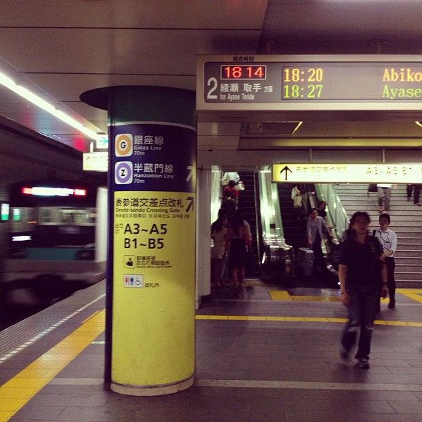 The subway series vol:4  Tokyo Metro / Omotesando Sta. - @hide_0911- #webstagram