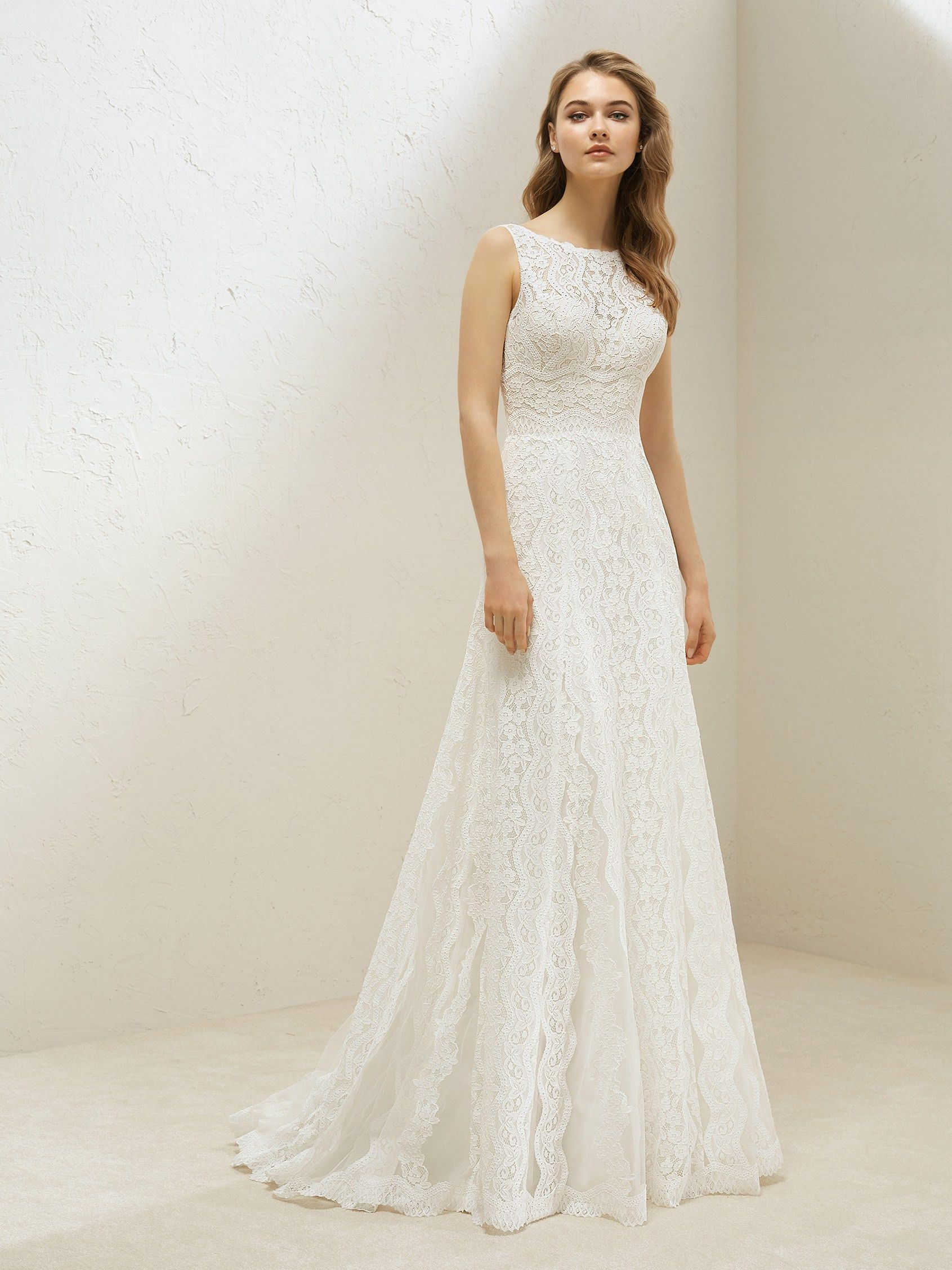 Lace Takes Center Stage In A Dress Set Apart By Romanticism And