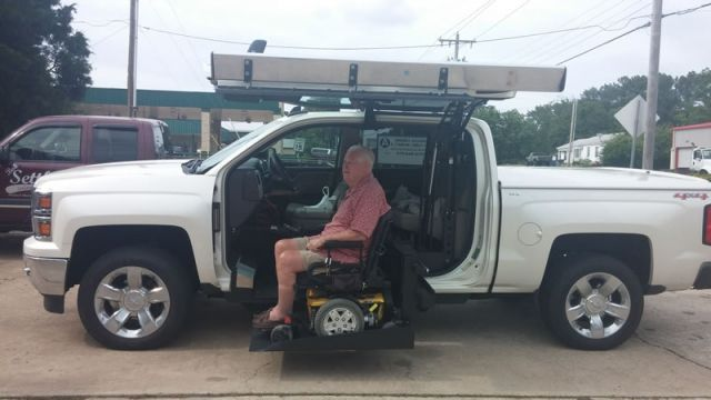 Used Cars Raleigh Nc >> 2015 Chevrolet Silverado 1500 LTZ Wheelchair Van For Sale ...