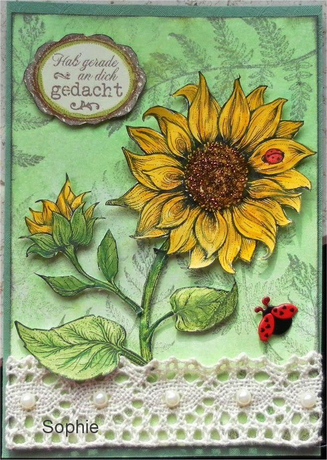 Sophie's Art: Sonnenblumen  -  sunflower