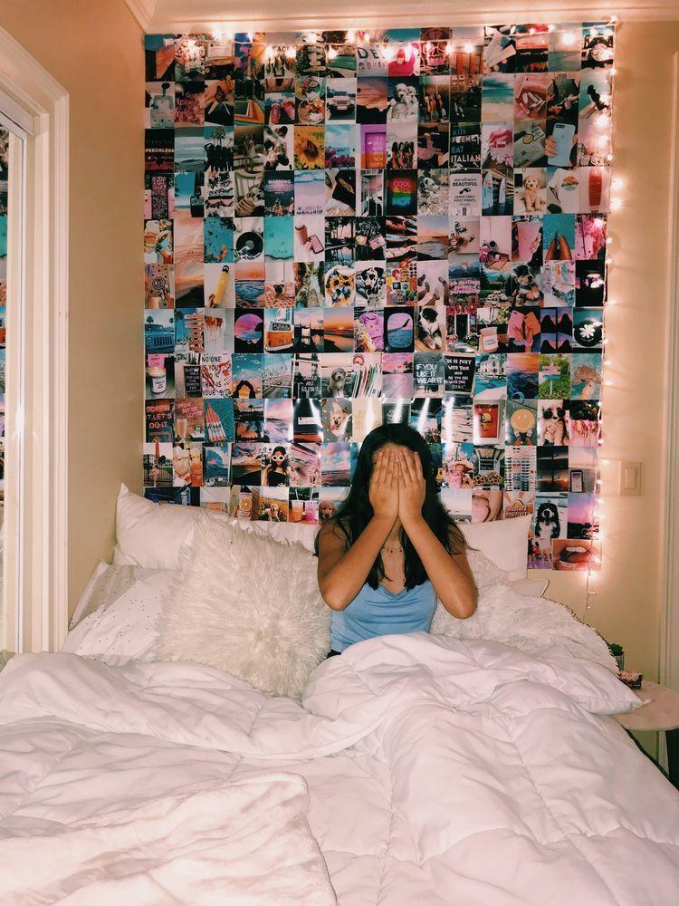 Pinterest Noemiumanzorr In 2020 Photo Walls Bedroom Girl Bedroom Decor Redecorate Bedroom