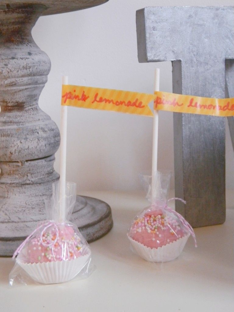Raspberry Divine Twine Cake Pop Packaging By Amy Cluck Cake