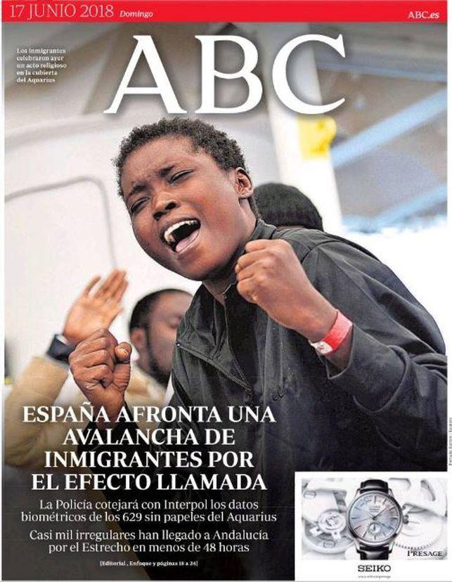 As Cuenta La Prensa Internacional La Llegada Del Aquarius A Espaa