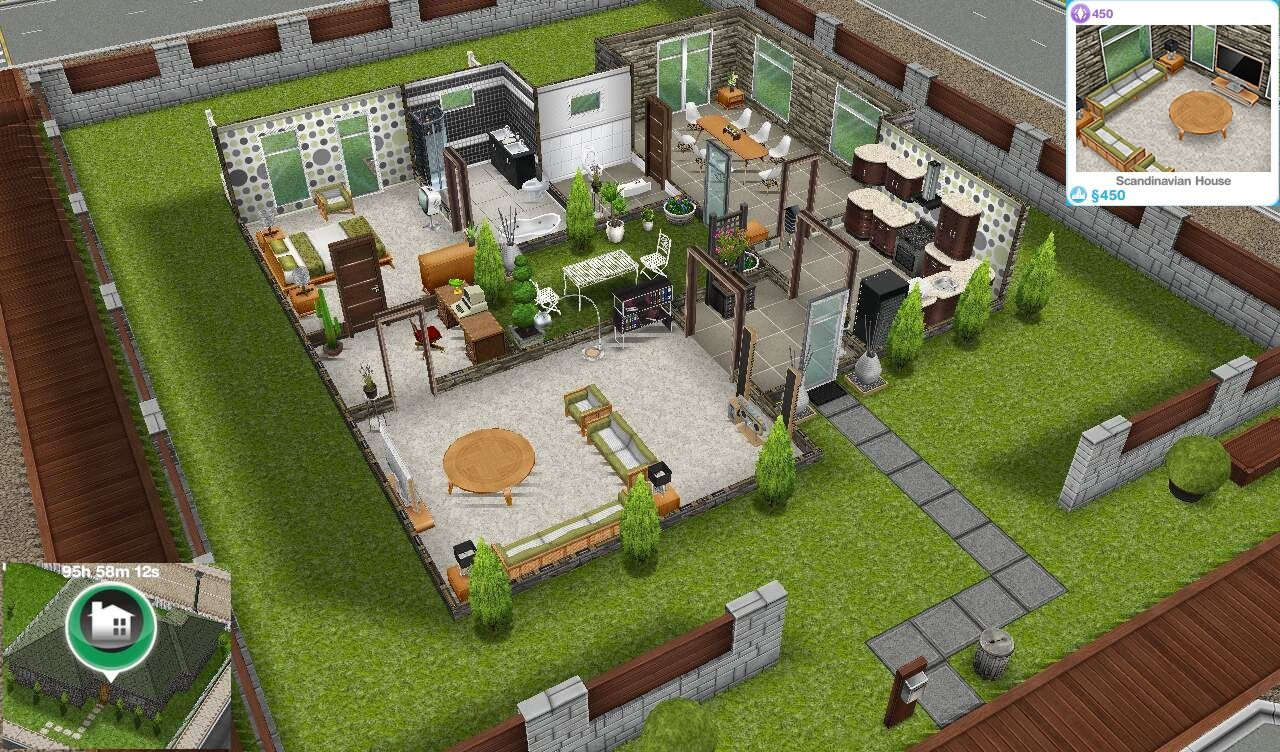 Genial House · Sims Freeplay ...