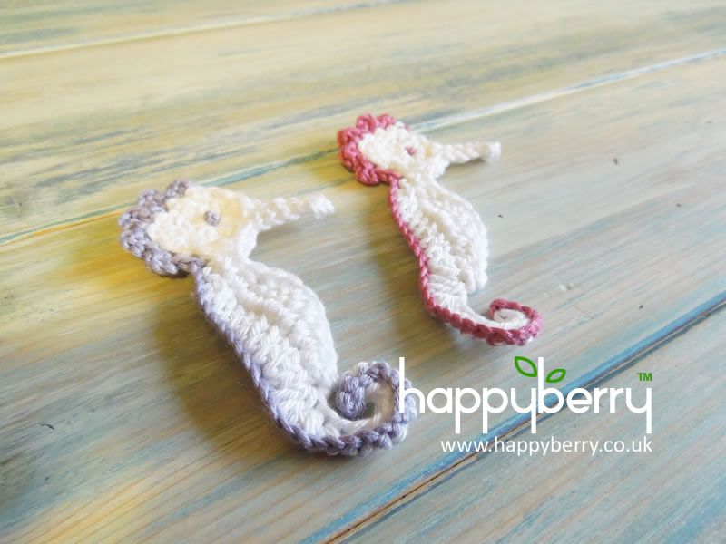 How to - Crochet a Seahorse - Yarn Scrap Friday http://youtu.be ...