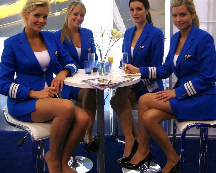 Flight crew pantyhose