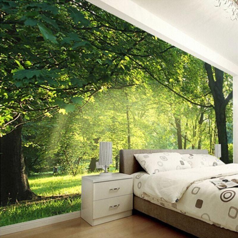 3d Nature Scenery Mural Wallpaper Bedroom Wallpaper Nature
