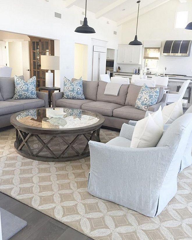 Neutral furniture Comfortable livingroomfurniture livingroomdecor interiordesign Take Look At Our Blog For More Living Room Pinterest Furniture Ideas For An Elegant And Refined Living Room Interior