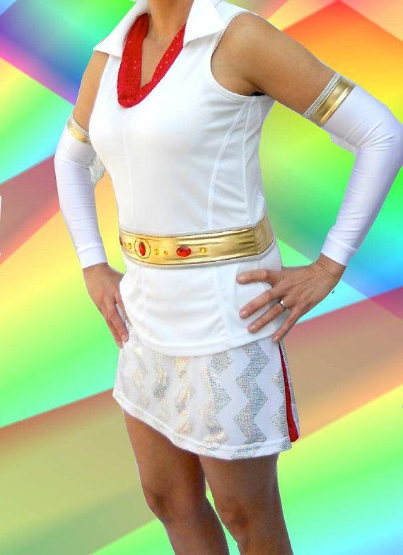 Elvis inspired running Top | iGlow Running | Running skirts