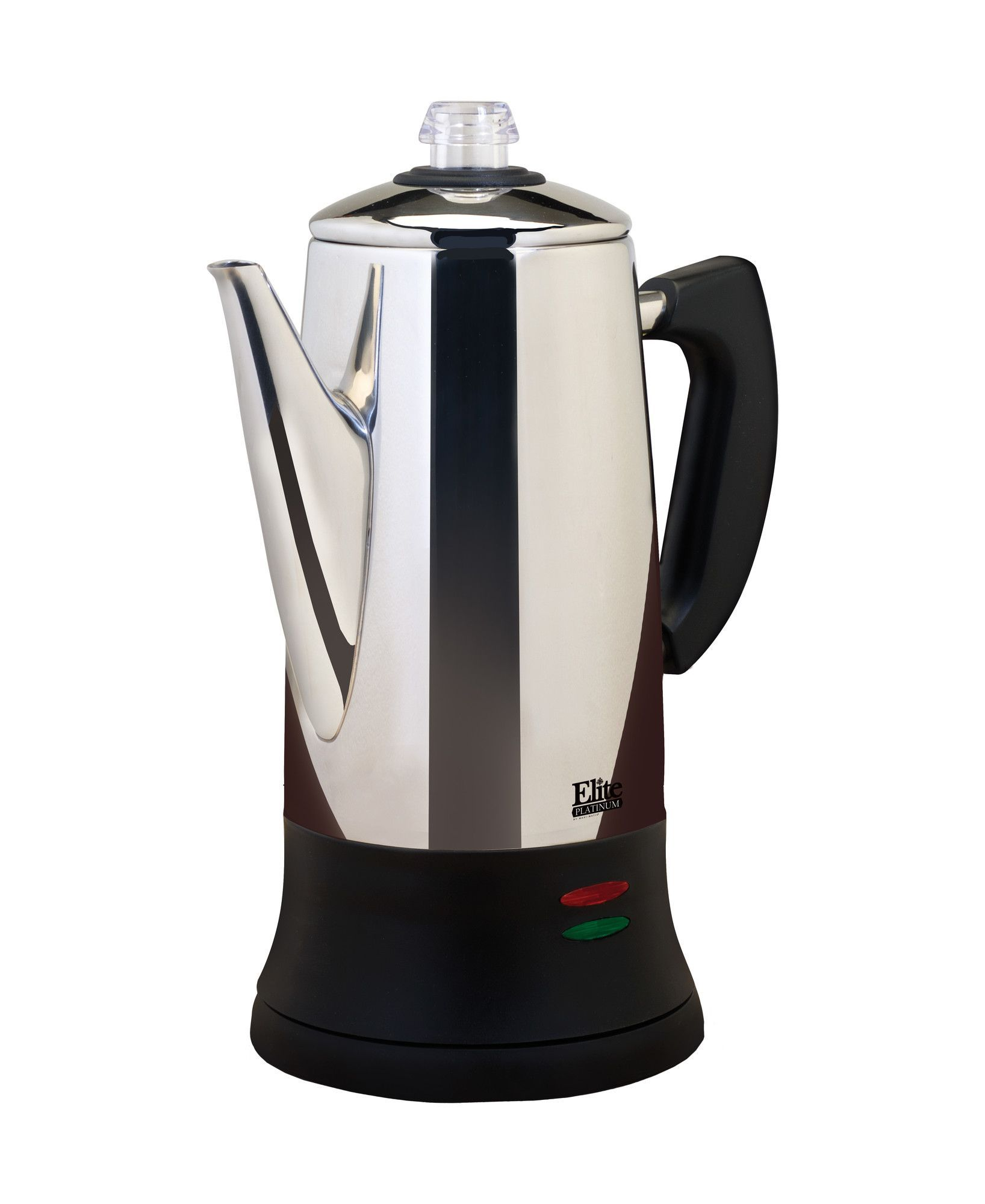 Platinum stainless steel cup tea and coffee percolator coffee