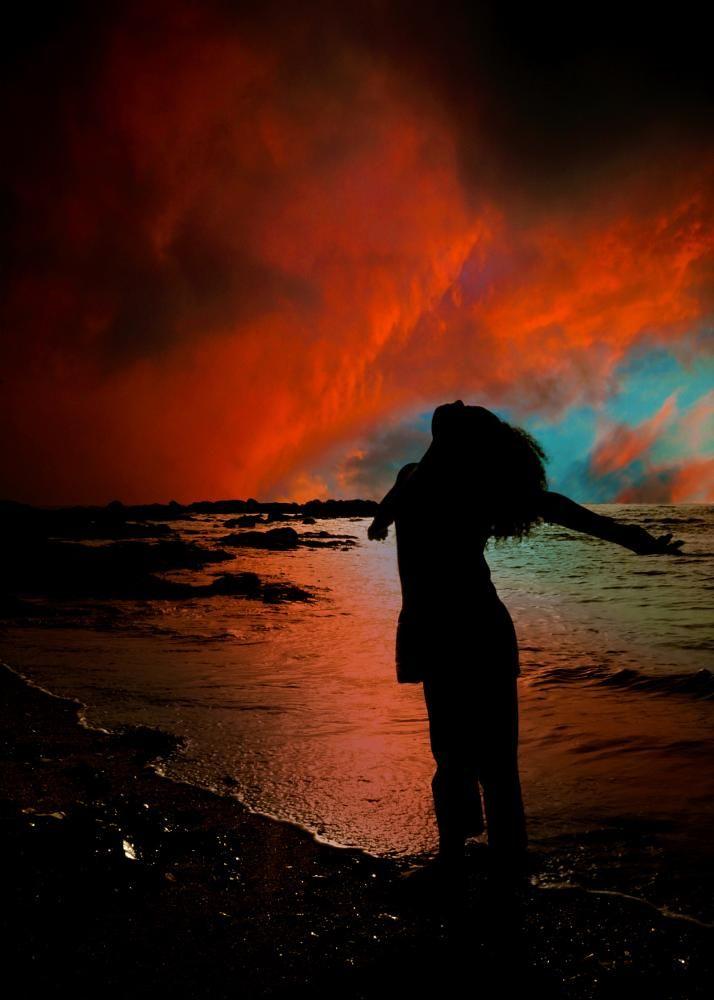 Enjoy the sunset by loicgiraud75