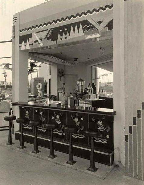 Art Déco - Snack Bar, Propriété de Mary Pickford - Wilshire Links ...