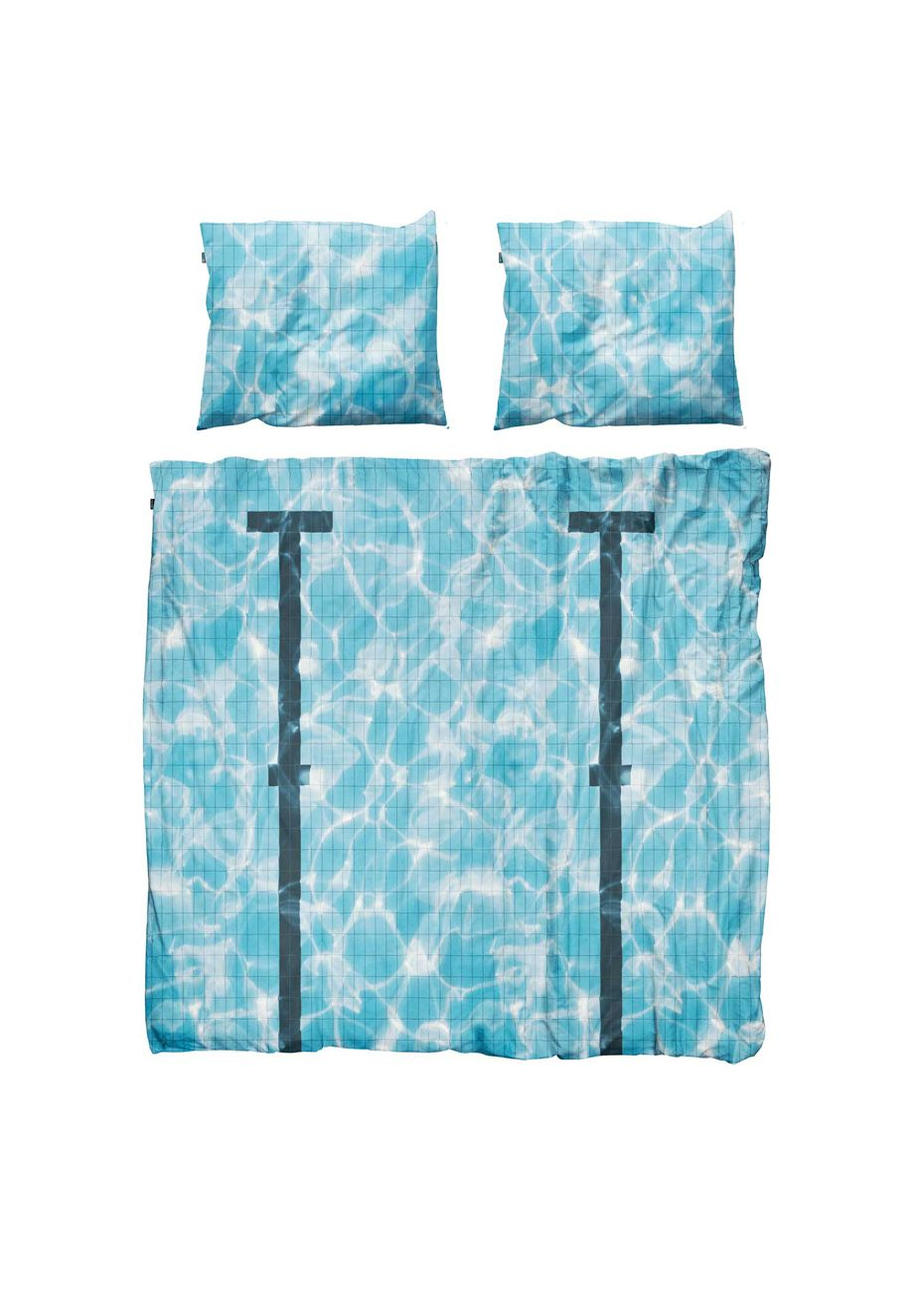 Queen Swimming Pool Duvet Cover Set Snurk Duvets Onceit