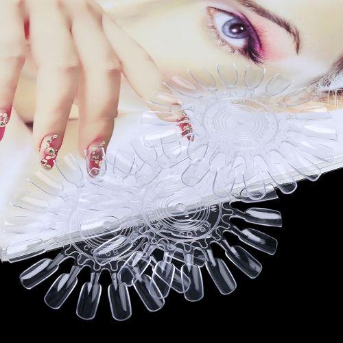 10pcs Roundness Nail Art Practice Design Training Polish Color