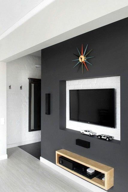 Design Dans Les Petits Espaces Maison Meuble Tv Placo